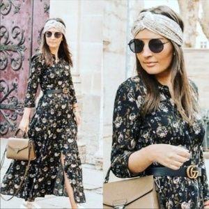 NWT Zara Size M Maxi Dress